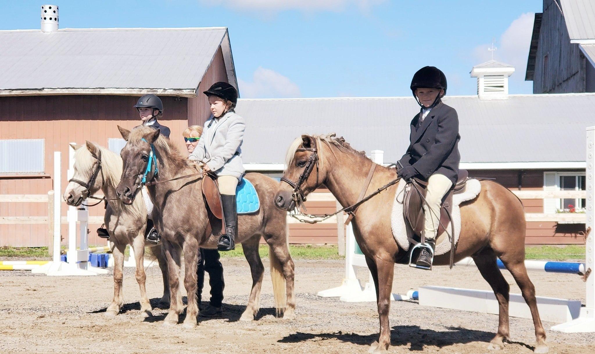 ovh juniors on horses